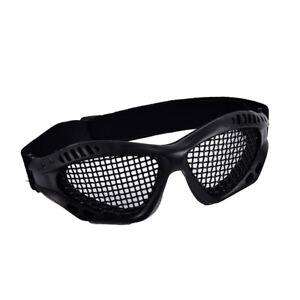 Outdoor-Paintball-Goggle-Hunting-Airsoft-Metal-Mesh-Glasses-Eye-Protectio-TDO