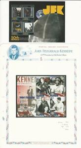 Antigua-Postage-Stamp-John-F-Kennedy-Mint-NH-Sheets-Space-JFZ