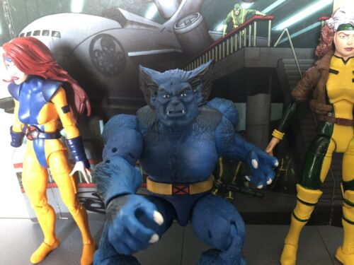 Marvel Legends custom 3 Beast chefs