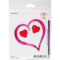 Cheery Lynn Designs Die Heart To Heart 4 X 4 -