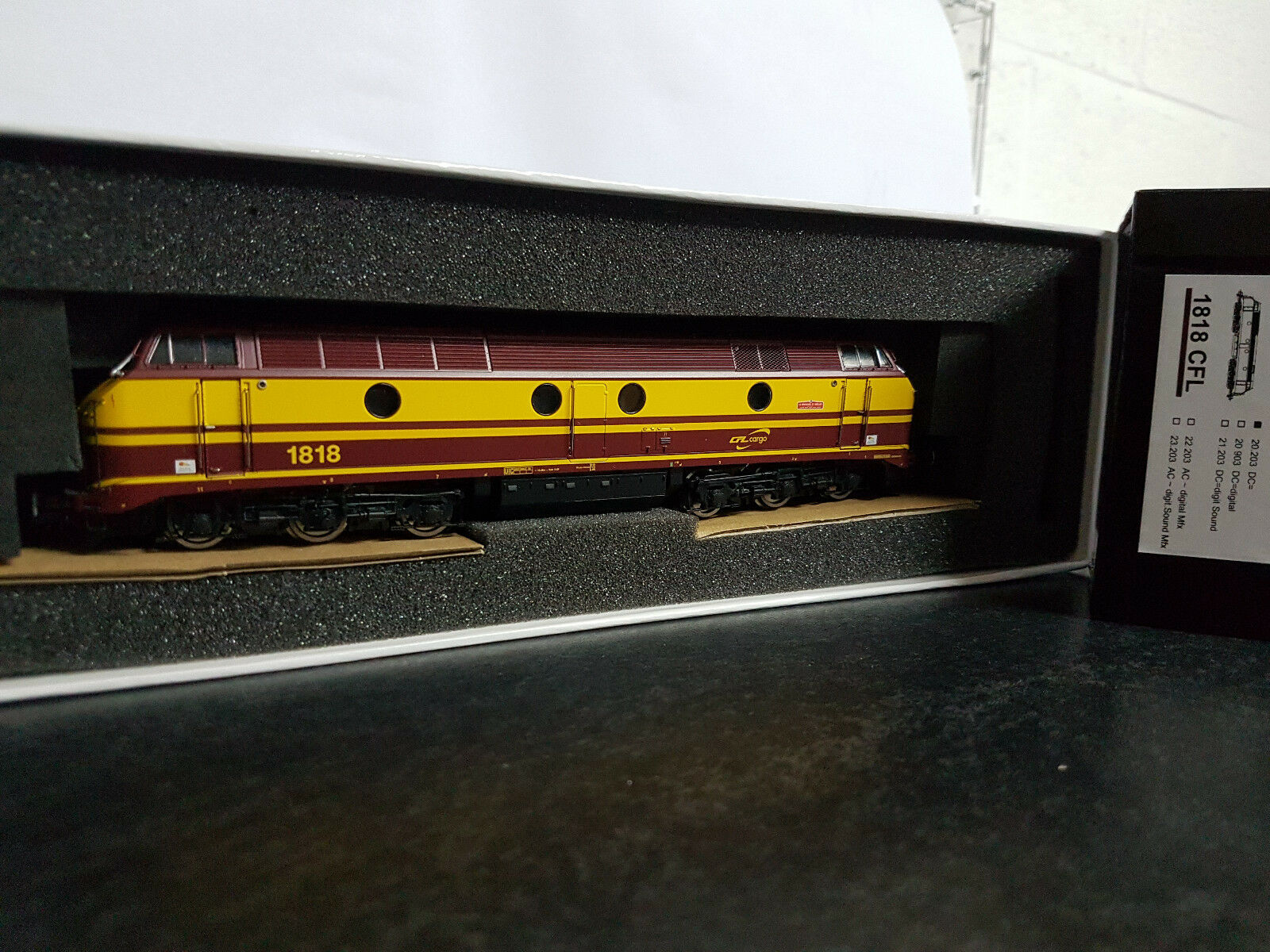 B models 20.203 DIESEL 1818 CFL Cargo in DC con OVP