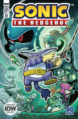 Sonic the Hedgehog 33 NYCC 2020 IDW Exclusive Limited Edition Variant RE 700 NM