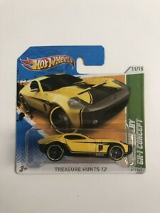 Hot-Wheels-2012-RLC-Factory-Set-1-500-FORD-SHELBY-GR-1-CONCEPT-Treasure-Hunt