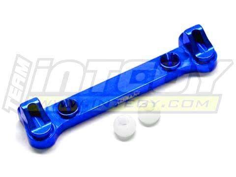 Integy T8159BLUE Rear Inner Hinge Pin Brace Set for Losi 8ight B+T & 2.0