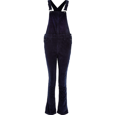 Xs W32 L28 Women's Clothing Intellective Levis Womens Dungarees Line 8 Corduroy Navy Blue Strappy Sz