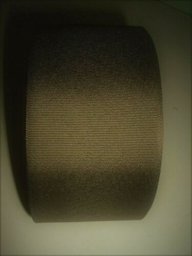 """OFFRAY 50 YD ROLL BROWN GROSGRAIN RIBBON 3/"""" NEW CHEER BOWS-FREE SHIPPING"""