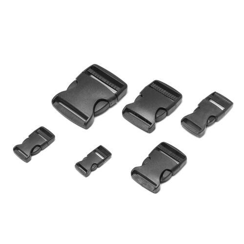 Curved Buckle Backpack Belt Parts Side Release Buckles Paracord Bracelet Lock