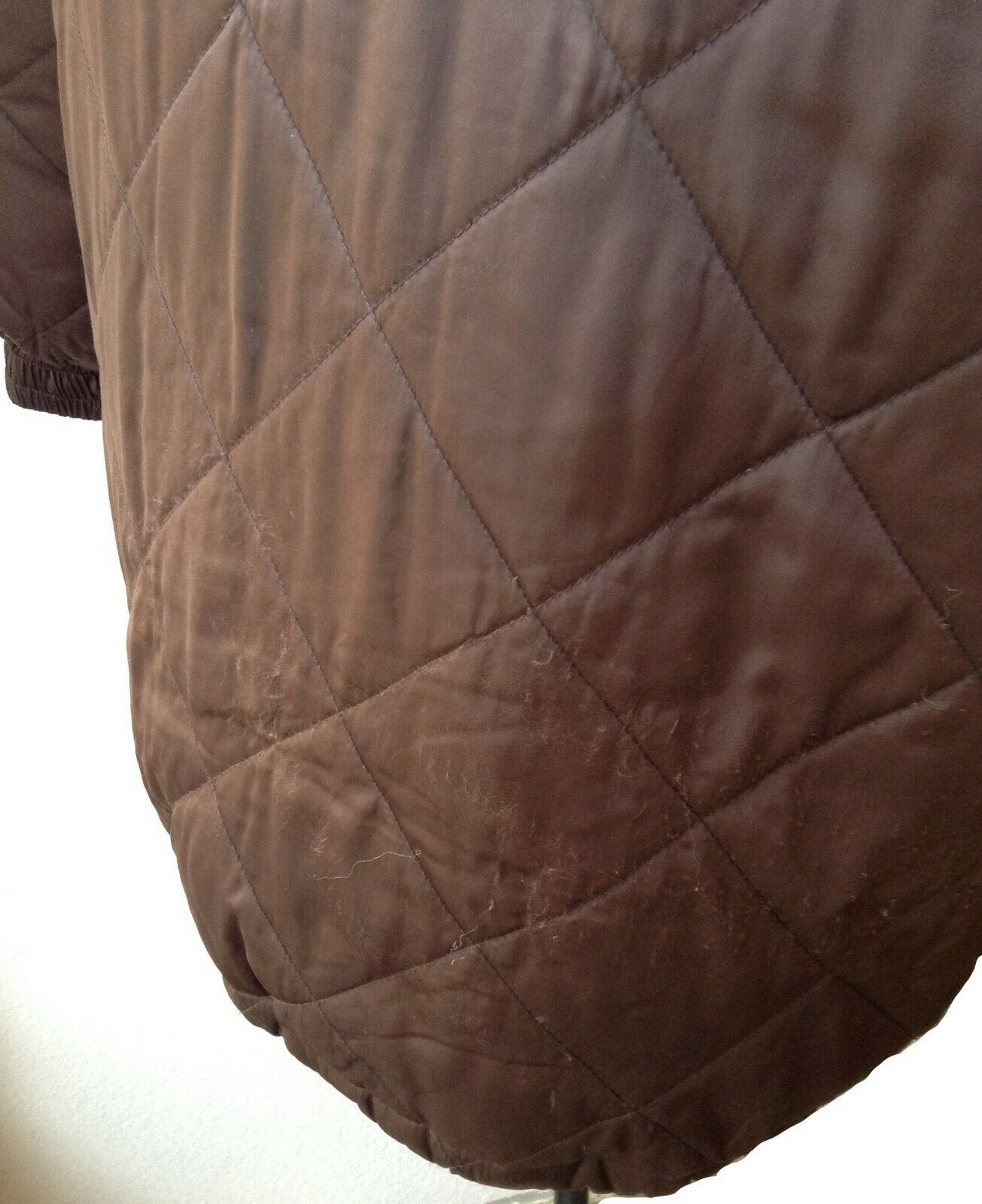 BILL BLASS QUILTED DOWN FILLED PUFFER COAT, KNEE … - image 8