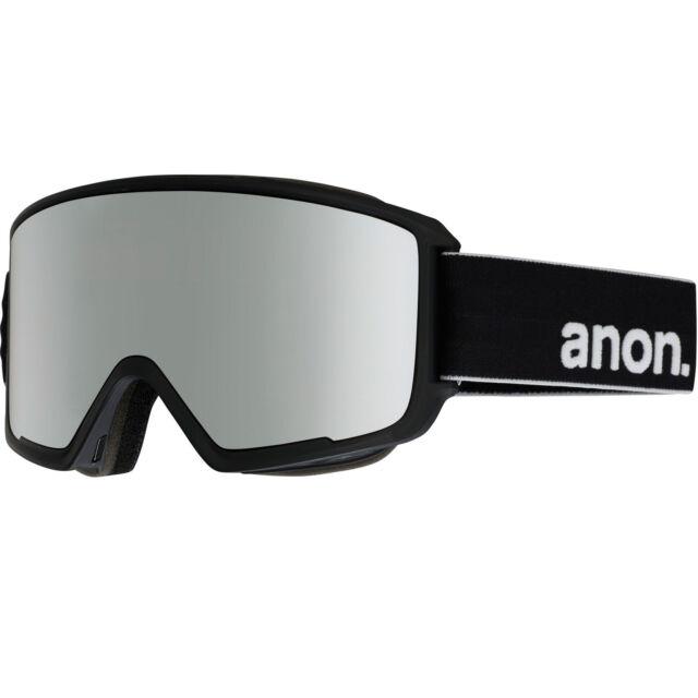 1d2e7aeea2d0 anon M3 MFI Ski and Snowboard Goggles Google Case Black Sonar Silver ...