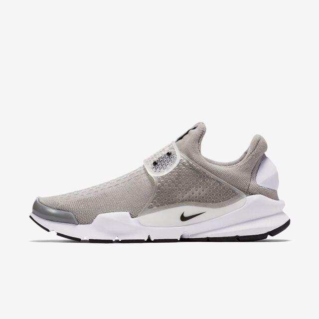 on sale ce3eb 1ebfb Nike Sock Dart KJCRD Sz 12 Medium Grey Black White 819686 002
