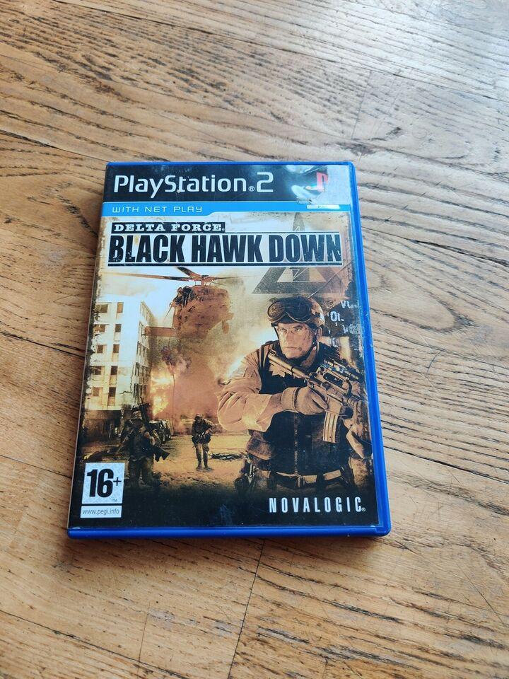 Delta force black hawk down, PS2, action