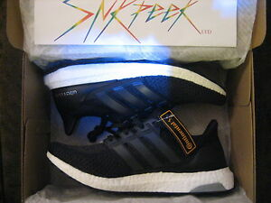439b84b8e4ac0 Adidas Ultra Boost 2.0 Core Black 2016 Continental Sole BB3909 Men s ...