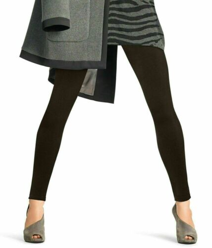 14-18 Hue Women/'s Brushed Fleece Seamless Leggings Black L//XL