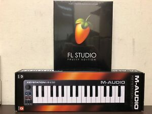 using midi keyboard fl studio