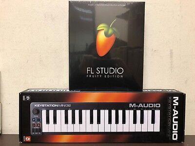 FL Studio 20 Fruity Bundle Image Line W/ Mini USB MIDI Keyboard *New*  600599646964 | eBay