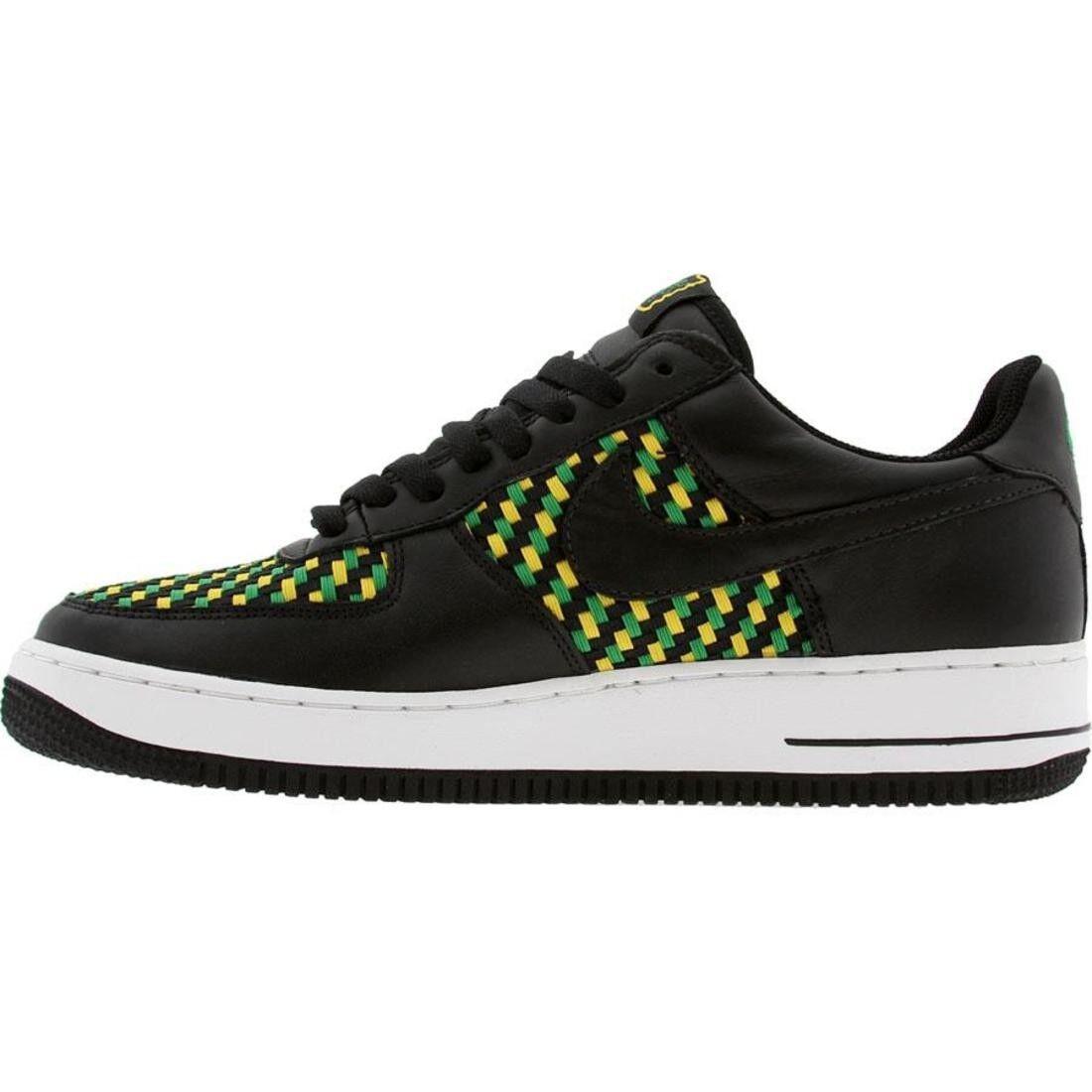 Nike Air Force 1 Low Premium West Indies 4 Jamaica Black Green