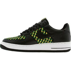 309096-002 Nike Air Force 1 Low Premium West Indies 4 Jamaica Black Green