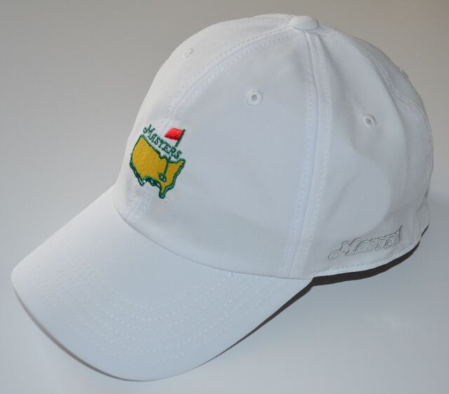 2017 MASTERS (WHITE) PERFORMANCE SLOUCH Golf HAT from AUGUSTA NATIONAL 6199e17859f