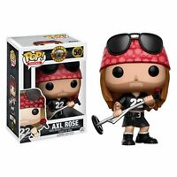 Funko Pop Rocks 2016 Guns N' Roses Axl Rose 50 Vinyl 3 3/4 Figure In Stock