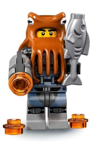 COLTLNM-12 NEW LEGO SHARK ARMY OCTOPUS FROM SET 71019 THE LEGO NINJAGO MOVIE