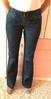 Jeans Roberto Cavalli (Blu Scuro, Cuciture Oro)