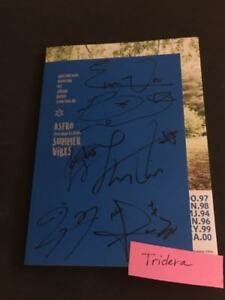 Astro-Summer-Vibes-2nd-Mini-Album-Signed-Autographed-All-Member-KPOP-Authentic