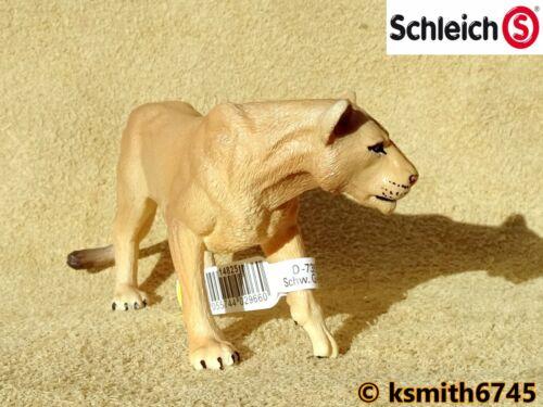 NUOVO * Schleich LEONESSA solido in plastica giocattolo Wild Zoo animali leone gatto Predator