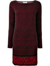 Michael Kors Luxus Kleid/Jerseykleid  Schwarz/Rot Gr.36/SNeu!