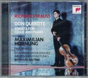 Maximillian-HORNUNG-Richard-STRAUSS-Don-Quixote-Cello-Sonata-Bernard-HAITINK-CD