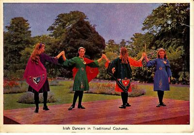 Postcard Moldova traditional dance