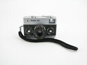Rollei-35-Kompaktkamera-compact-camera-Tessar-3-5-40-Gurt-strap