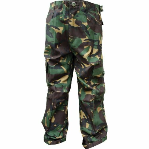 Pantaloni da combattimento di Highlander Bambini Mimetico Esercito Britannico BTP Mimetico RAF sfusi