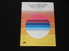 The Sun Ain't Gonna Shine Anymore (1981) Nielsen/Pearson & Bob Crewe #5215*