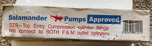 Salamander 22mm DZR Top Entry Compression Cylinder Flange Surrey A-Type