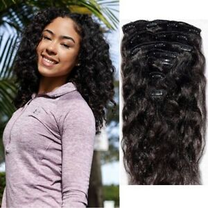 Indian-Human-Hair-Extensions-Remy-hair-4C-4B-Frizzy-Curly-Kinky-Clip-Ins-20-22-034