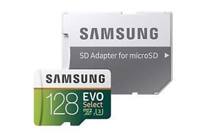 SAMSUNG-EVO-Select-128GB-MicroSD-SDXC-U3-Class10-Memory-Card-Adapter-Brand-NEW