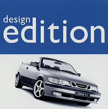Saab 9-3 93 SE Cabriolet Design Edition Prospekt 2001 brochure Auto Autoprospekt