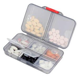Pill Storage Box Medicine Case Pill Container Holder Organizer
