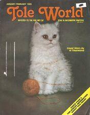 TOLE WORLD ~ JANUARY/FEBRUARY 1985