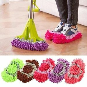 Lazy Mop Cleaner Floor Cleaning Slippers Shoes Clean Shoe Covers Dust Cleaner