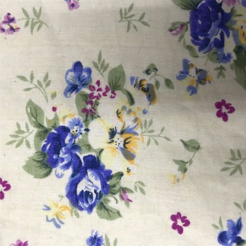 100/% Craft Sewing Cotton Patchwork Material Metre Half Meter Fabric UK