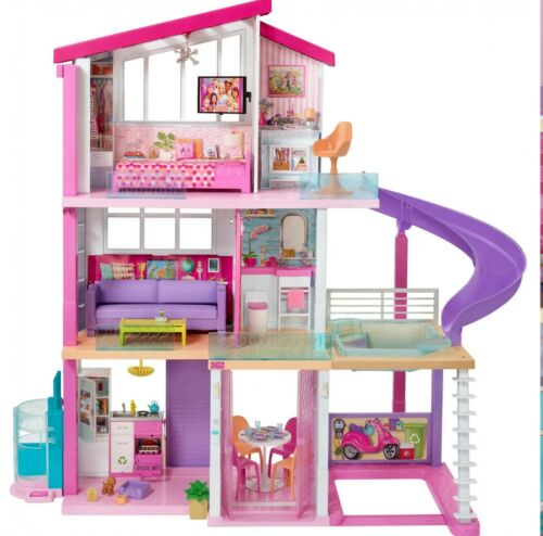 See Description please 2018 Barbie Dreamhouse Playset with 70 Accessory
