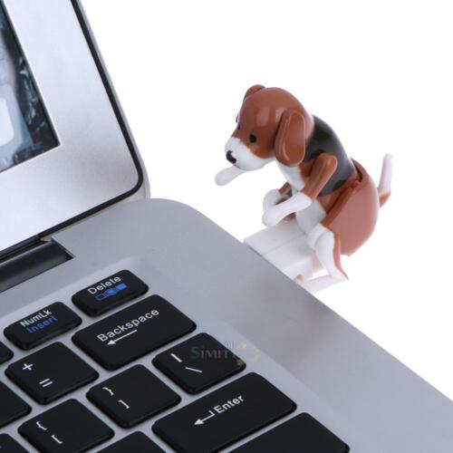 Portable Funny Cute Pet Dog USB Humping Spot Dog Toy Christmas Gift Gray
