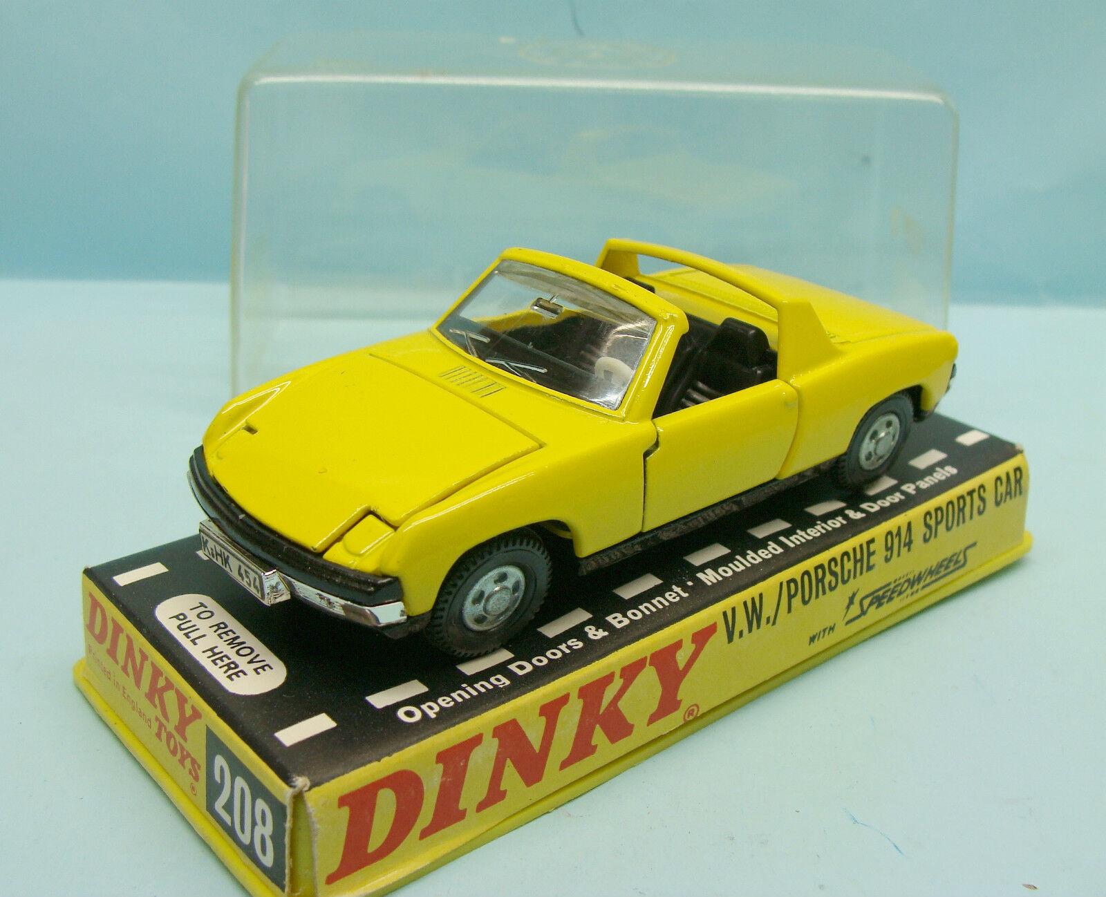 tienda de venta en línea 17365 DINKY DINKY DINKY TOYS   ENGLAND   VOLKSWAGEN PORSCHE 914 SPORT Coche 1 43  solo cómpralo