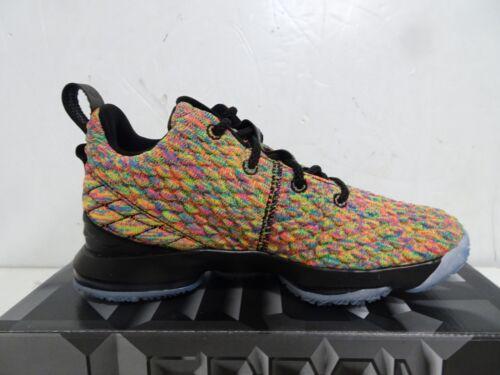 NIKE Lebron XV Shoes Fruitty Pebbles Four Horsemen 922812-901 Size 1Y PS