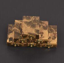 10Pc China Handmade Jade Gems Jewelry Box / Pendant Necklace Box / Gift Boxes