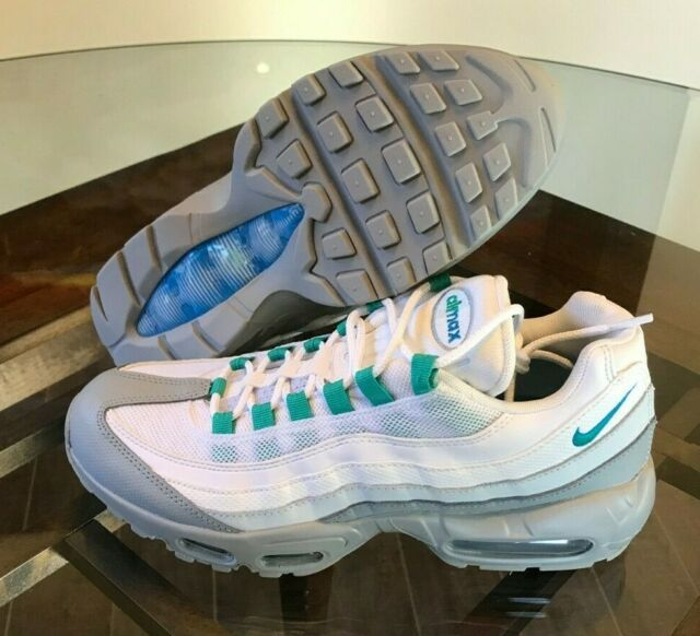 online store for whole family cheap sale Nike Mens Size 9 Air Max 95 Essential Light Pumice Clear Emerald U.s 749766  032