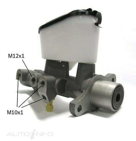 BOSCH BRAKE MASTER CYLINDER FOR FORD FALCON AU2 AU3 WITH Traction Control