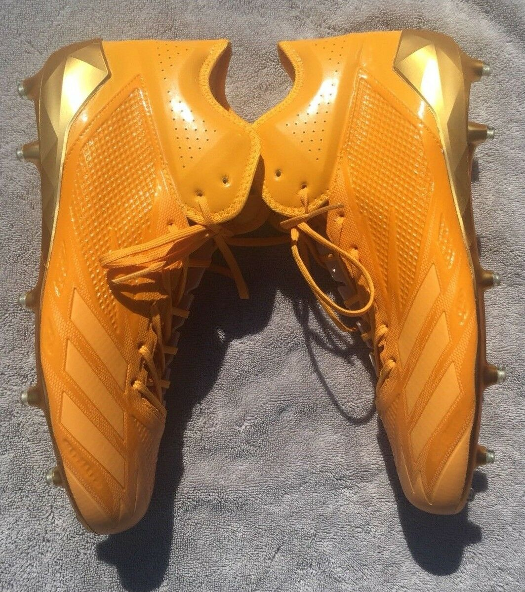 Adidas Adizero Star 6.0 X KE Mens Soccer Cleats Yellow gold (BY3893) Size  12.5