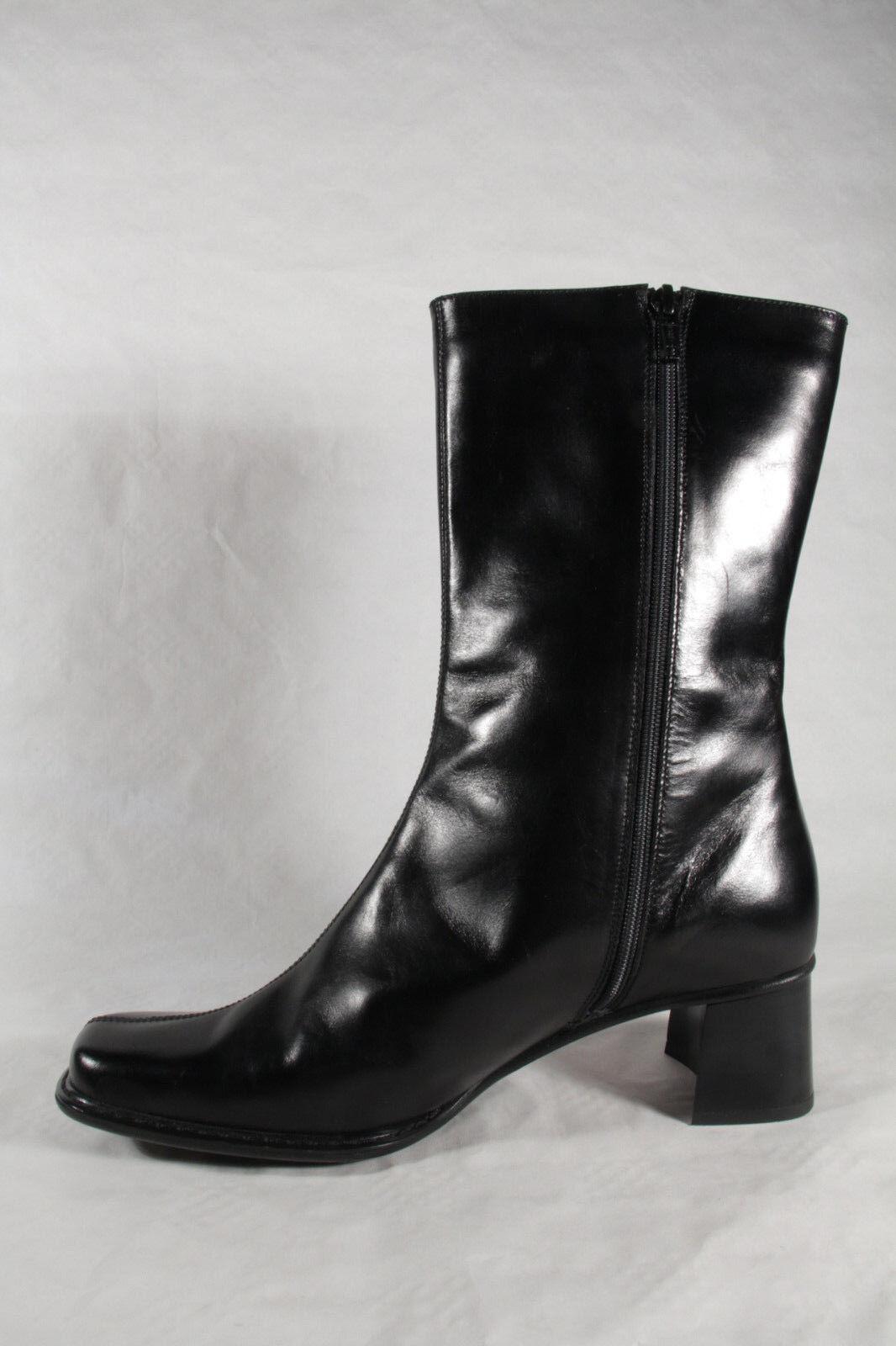 Lenci Damen Stiefel Stiefel Stiefel schwarz Echtleder Neu 07bcb2